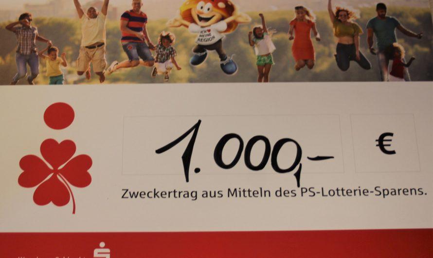 """Spendenübergabe """"PS-LOSE"""" der Sparkasse Senftenberg"""