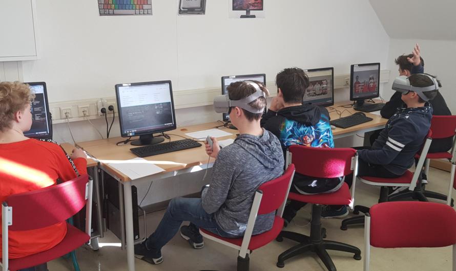 DEIN ERSTER TAG – Virtual Reality an der Oberschule Ruhland